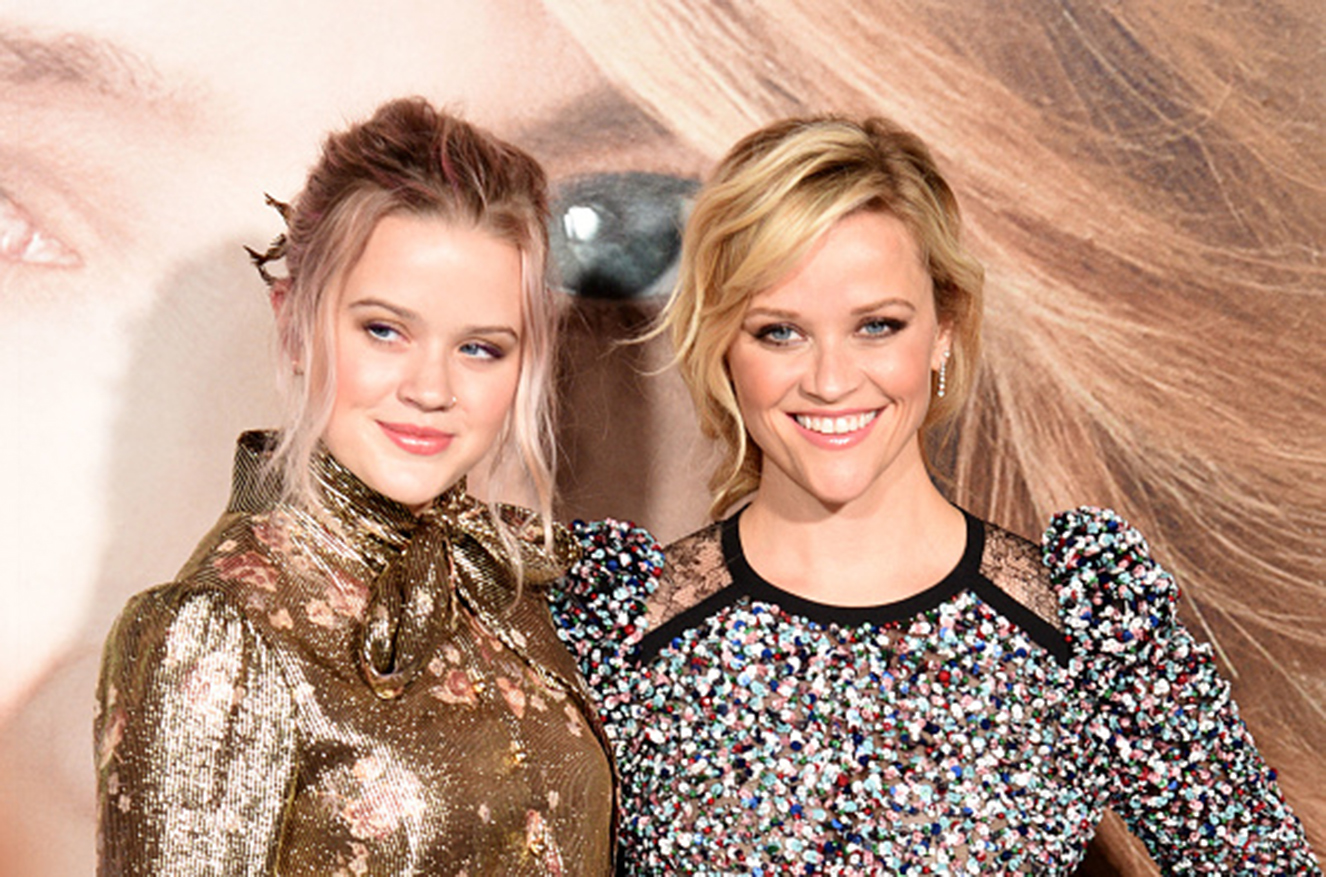 HOLLYWOOD, CA - FEBRUARY 07: Ava Elizabeth Phillippe (L) and actress Reese Witherspoon attend the premiere of HBO's 'Big Little Lies' at TCL Chinese Theatre on February 7, 2017 in Hollywood, California. (Photo by C Flanigan/Getty Images)