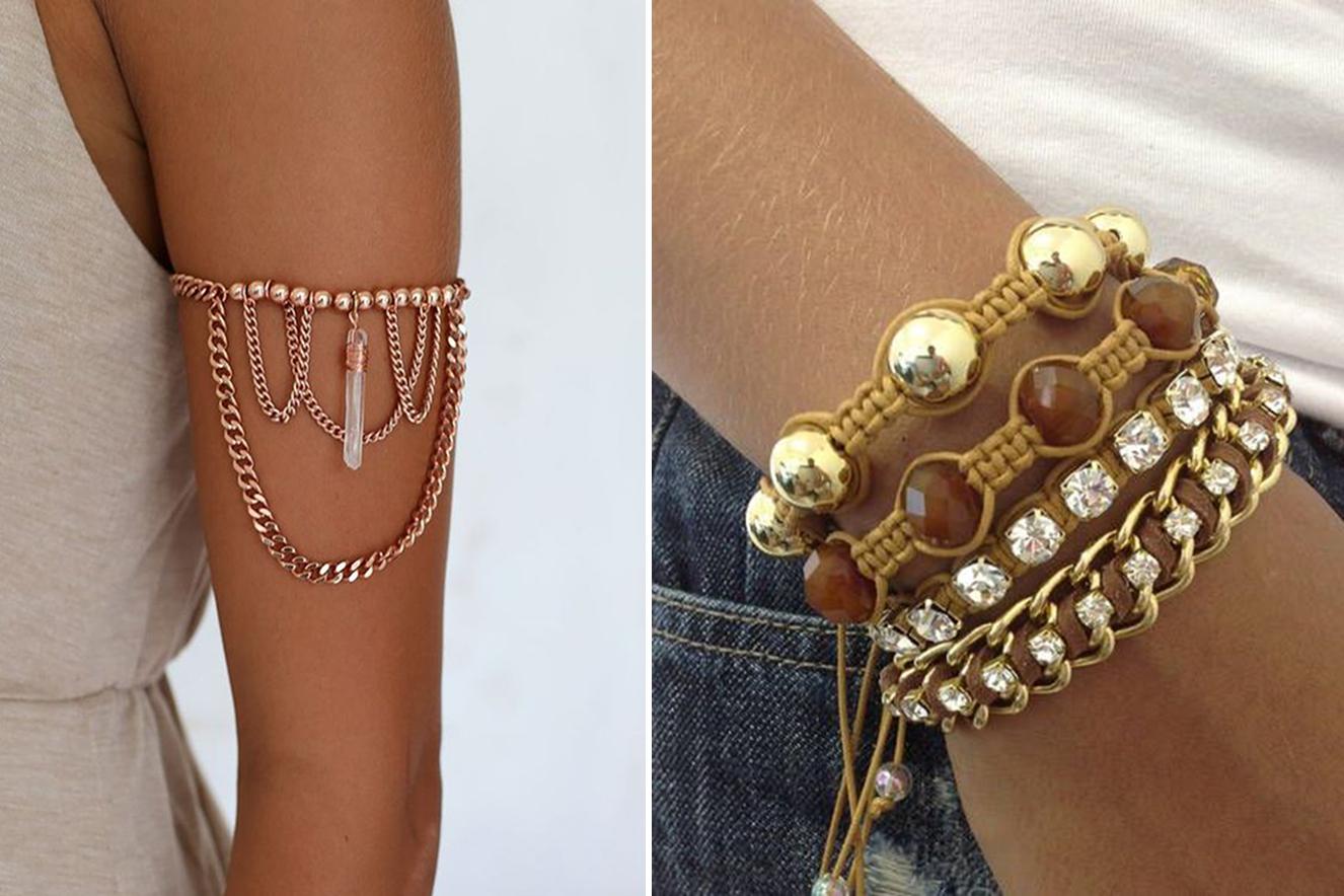 Pulseira e bracelete