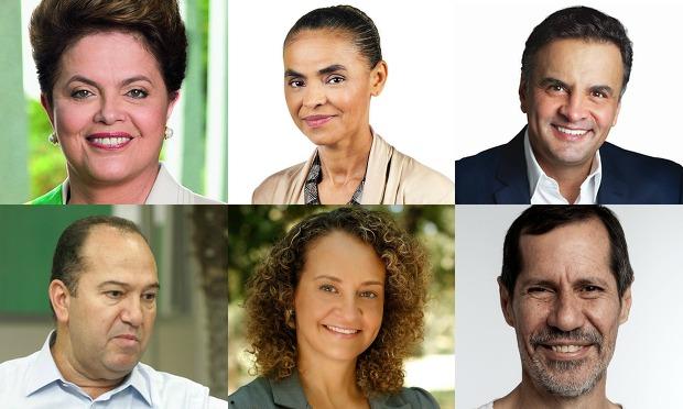 Dilma Rousseff: Robert Stuckert Filho / Outros: Divulgação