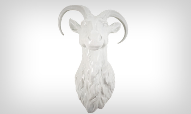 Cabeça de porcelana