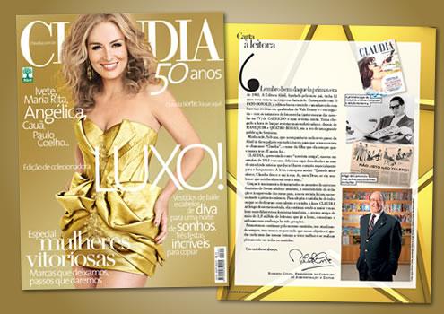 Claudia edição especial 50 anos