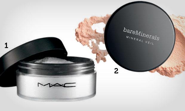 Lição de beleza: pó translúcido deixa a pele com efeito mate