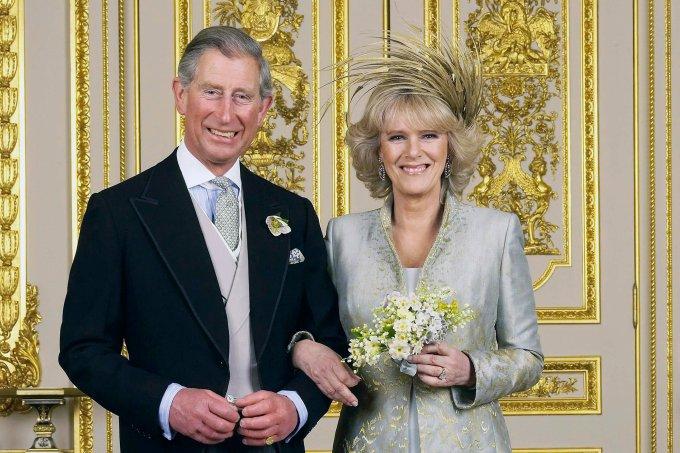 Príncipe Charles e Camilla casamento