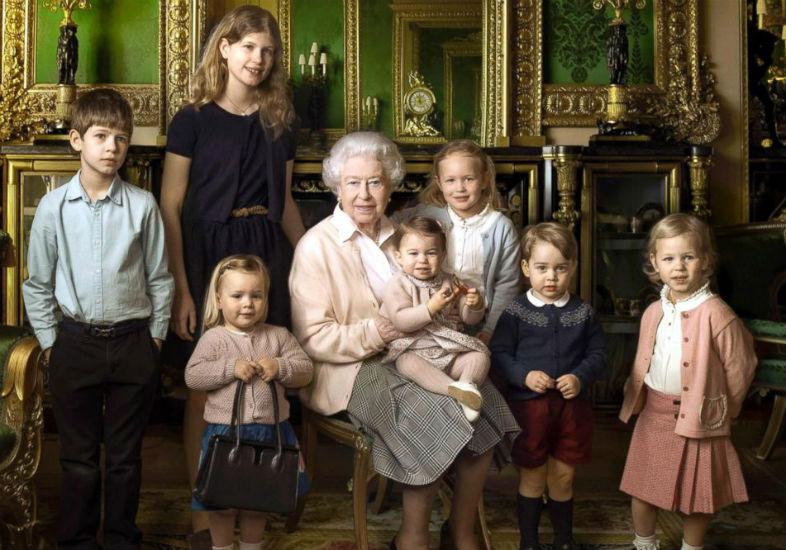 rainha elizabeth netos
