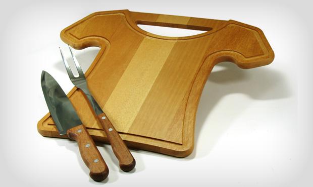 Utensílios práticos para churrasco