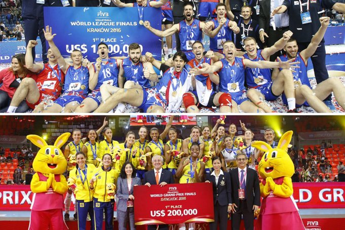 Divulgação Volleyball World League