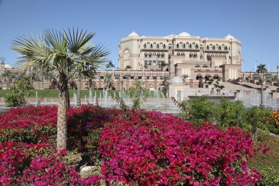 Hotel Emirades Palace, em Abu Dhabi