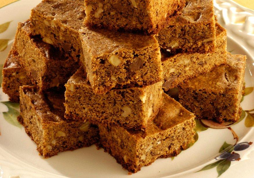 Brownie dourado