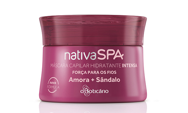 Máscara Hidratante Intense Amora + Sândalo Nativa Spa O Boticário