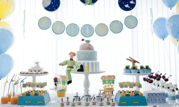 Decoração festa do Pequeno Príncipe