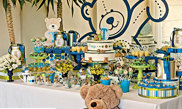 Chá de bebê ideias de decoração