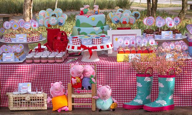 Festa da porquinha Peppa.