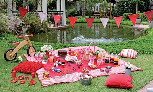 Decoração de festa de aniversário infantil