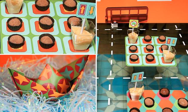 Decoração festa de aniversário infantil transporte
