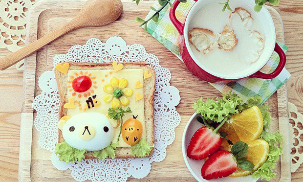 Food Art Amigos bichos