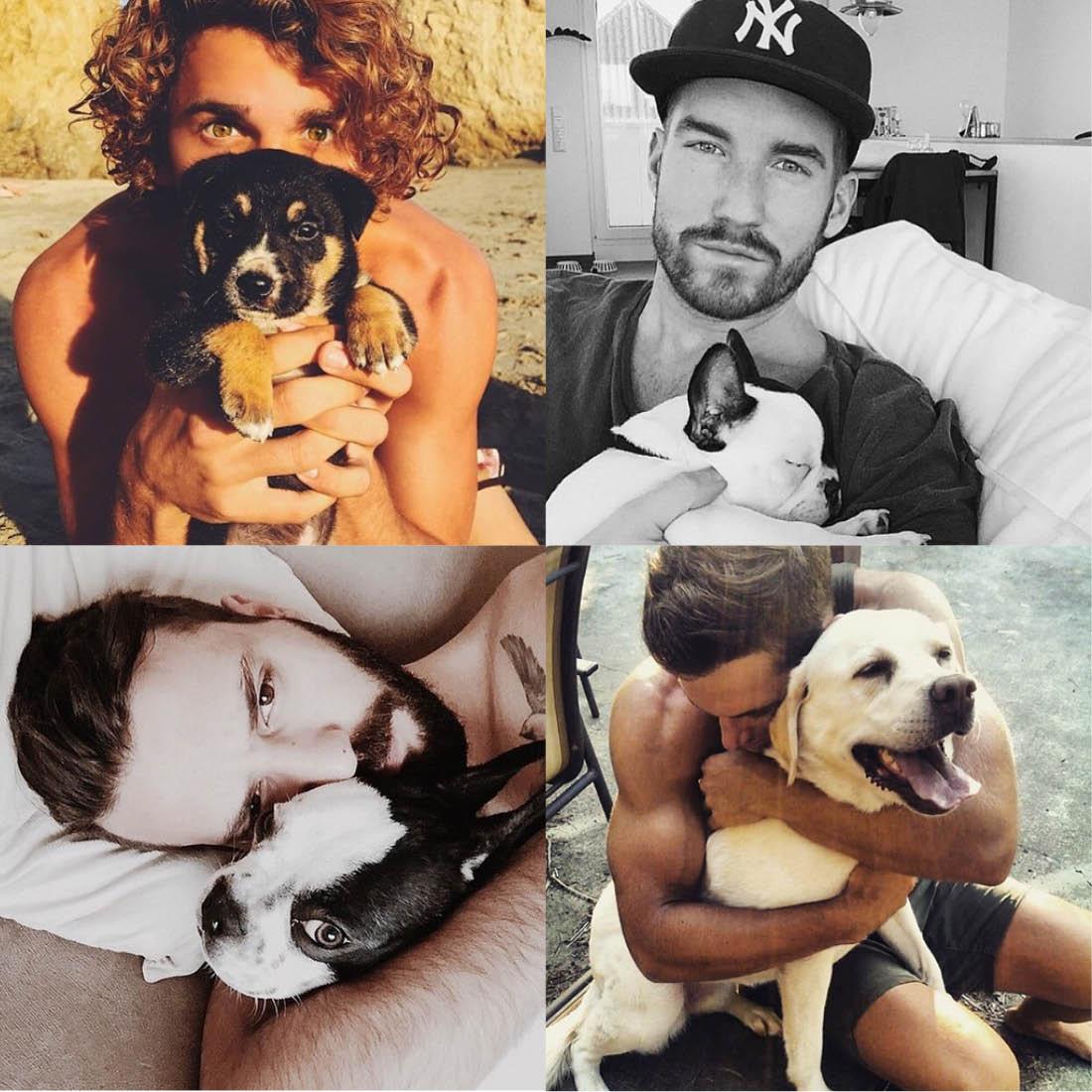 Divulgação Hot Dudes With Dogs