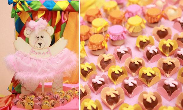 Decoração festa de aniversário do circo dos ursinhos