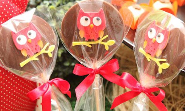 Decoração para festa de aniversário infantil de Corujinhas