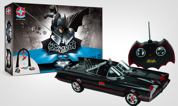 Brinquedos do Batman