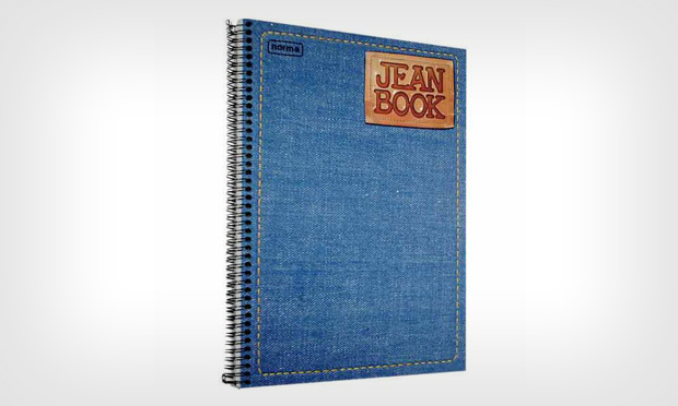 Caderno Jeans Book
