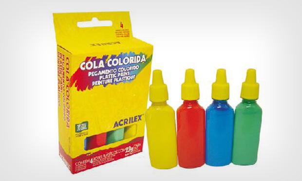 Cola colorida