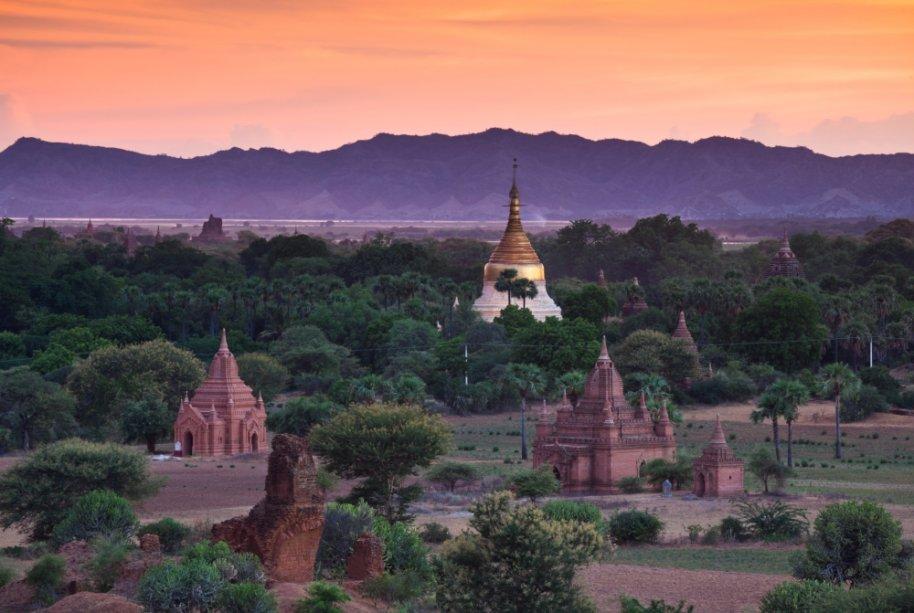 Os templos de Bagan, em Mianmar