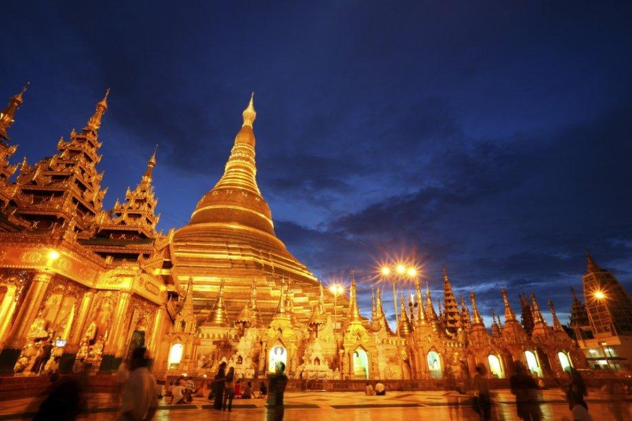 Templo em Mianmar