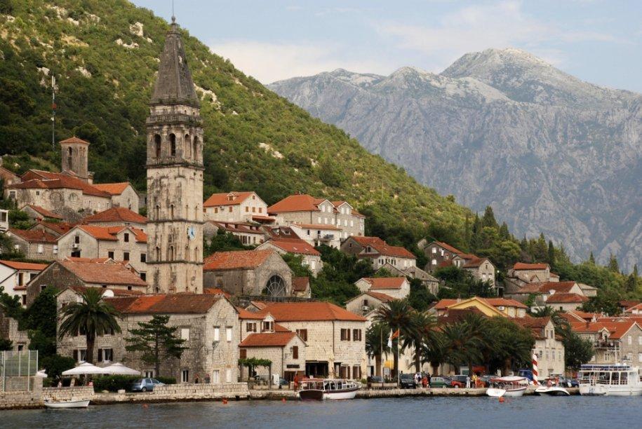 Perast, cidade montenegrina