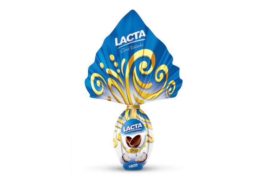 Ovo Coco Tostado (225g), Lacta, R$ 26,90*