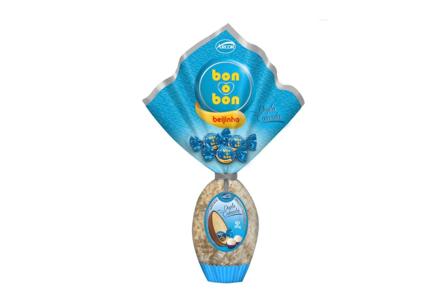 Ovo Bon o Bom (250g) de beijinho, Arcor, R$ 34,99*