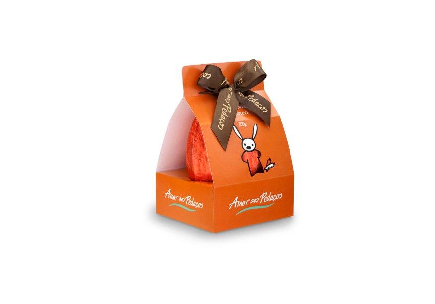 Ovo Cookie Branco (200g), Amor Aos Pedaços, R$ 48*