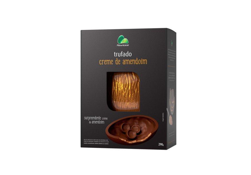 Ovo trufado com creme de amendoim (290g), Pão de Açúcar, R$ 28,99*
