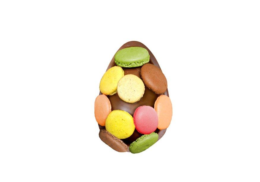 Ovo de macarons (240g), Vila Chocolat, R$ 69*