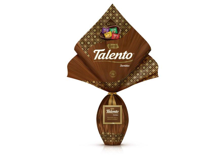 Ovo Talento Sortidos crocante (1kg), Garoto, R$ 79,99*