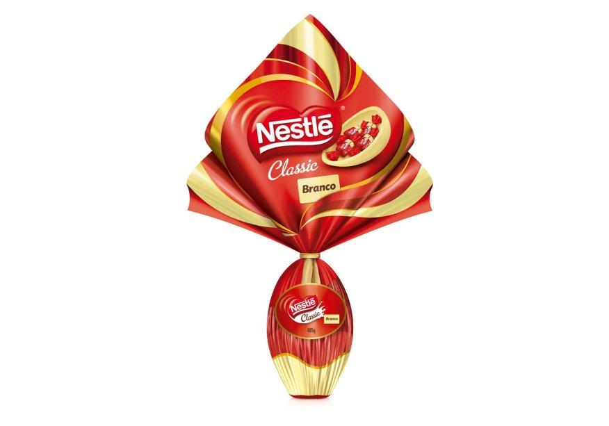Ovo Classic Branco (485g), Nestlé, R$ 56,99*