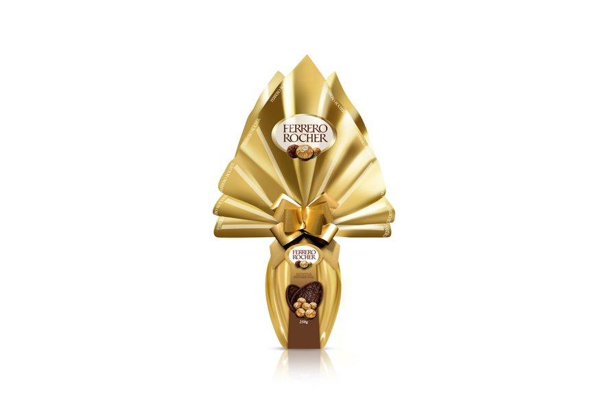 Ovo Ferrero Rocher (250g), Ferrero, R$ 41,99*