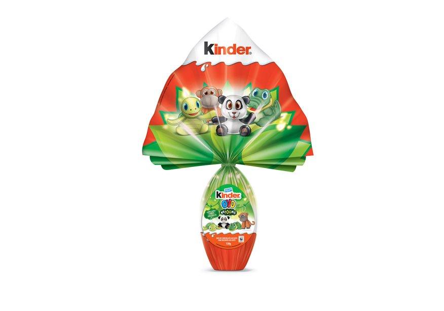 Kinder Ovo Natoons (150g), Ferrero, R$ 31,90*