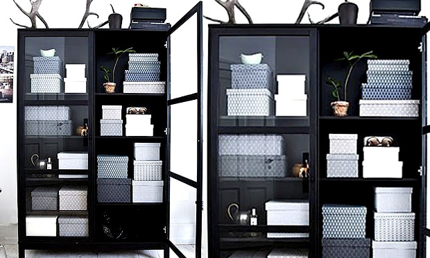 Prateleiras e estantes
