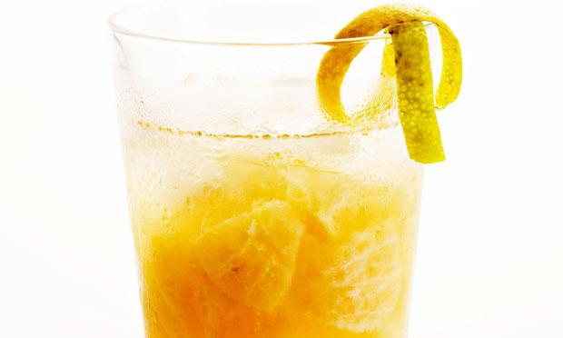 Caipiroska de tangerina