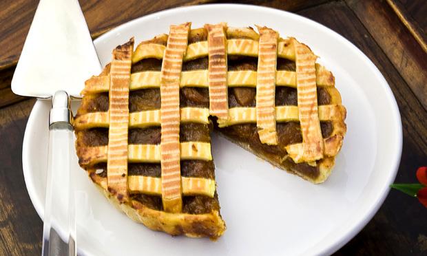 Crostata de damasco