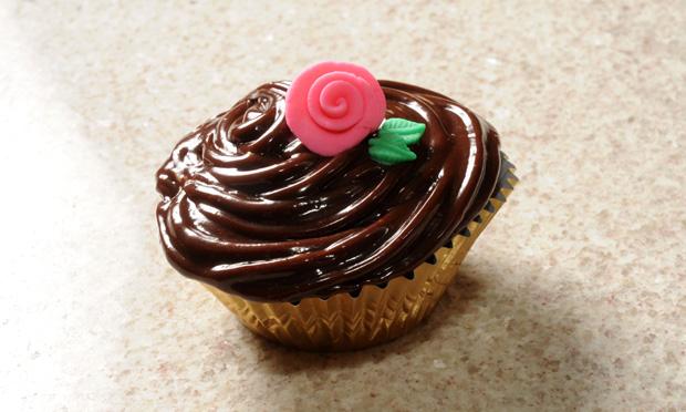Cupcake de cenoura com Nutella