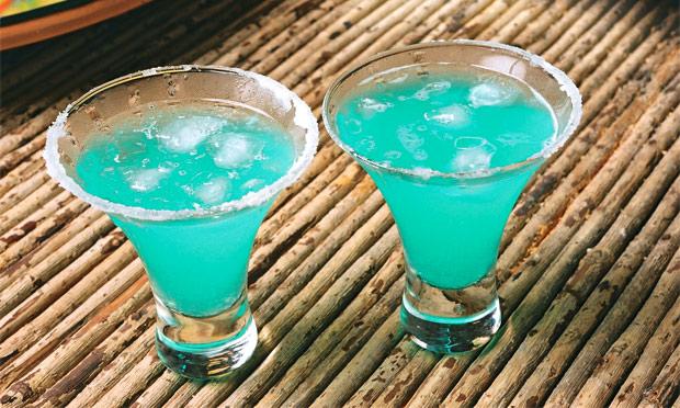 Garoa azul