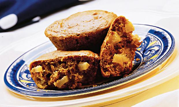 Muffin de pera light