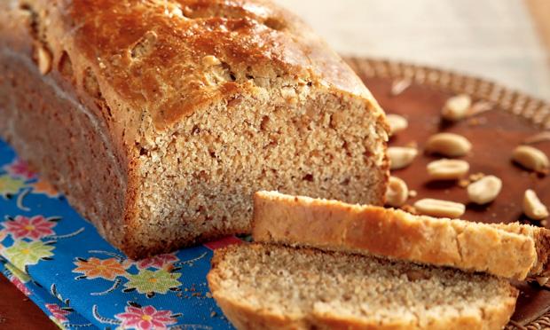 Pão de amendoim