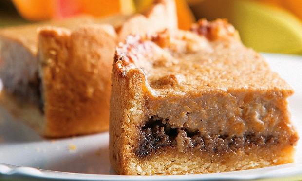 Torta de abóbora com avelã