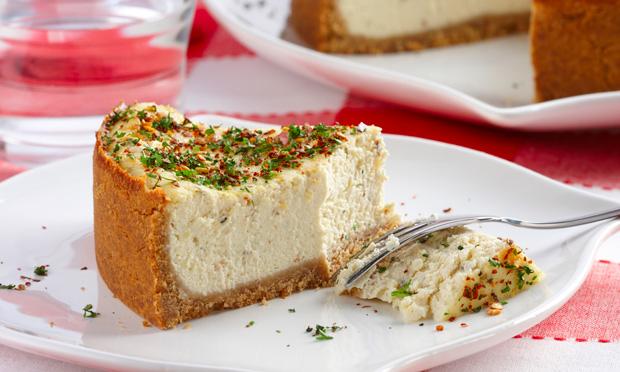 Torta expressa de queijo