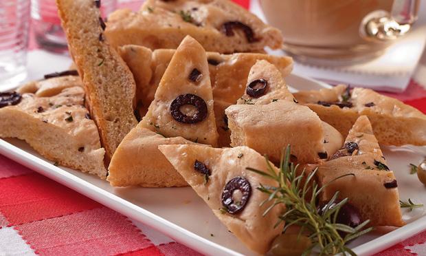 Torta italiana de azeitona