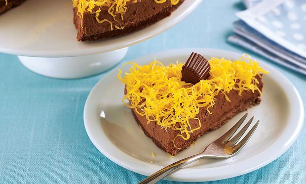 Torta-musse de chocolate Alpino