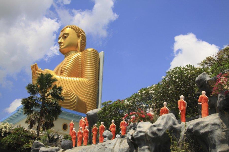 Dambulla, cidade do Sri Lanka