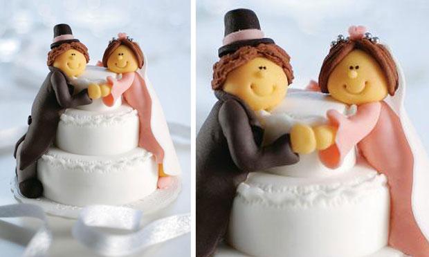 Noivinhos topo de bolo